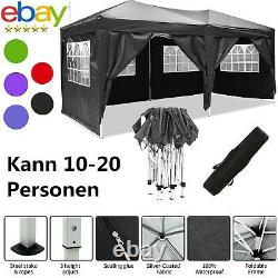 Heavy Duty Gazebo Marquee Canopy Pop-up Waterproof Garden Wedding Party Tent UK