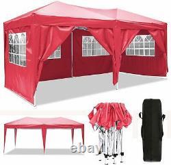 Heavy Duty Gazebo Marquee Canopy Pop-up Waterproof Garden Wedding Party Tent. UK