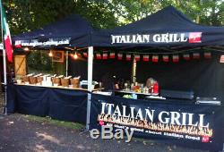 Heavy Duty Gazebo Marquee Mobil Catering Event Tent Plus Branding Pop Up Tent