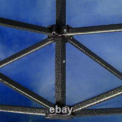 Heavy Duty Gazebo Marquee Pop-up Waterproof Garden Party Tent withSides 3x3M Blue
