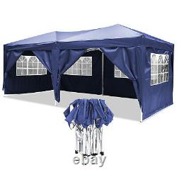 Heavy Duty Gazebo Marquee Strong Waterproof Garden Patio Party Tent with 4 Sides