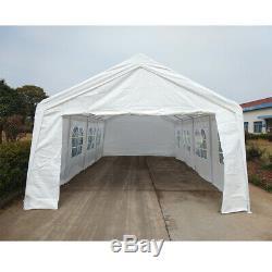 Heavy Duty Large Portable Garage Carport Shelter Car Port Canopy Tent 3x6m 4x8m