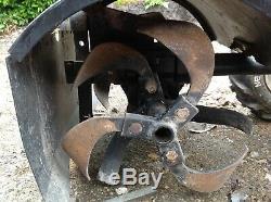 Heavy Duty Petrol 6.5HP Portable Garden Tiller Rotavator Cultivator