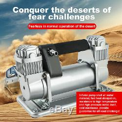 Heavy Duty Portable 12V 150PSI Car Tyre Auto Tire Inflator Pump Air Compressor