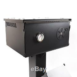 Heavy Duty Rocket Wood Burning Stove + Oven Portable Cooker Camping UK Made