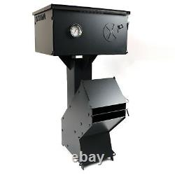 Heavy Duty Rocket Wood Burning Stove + Pizza Oven Portable Cooker Camping