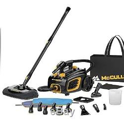 Heavy Duty Steam Cleaner Portable Floor Carpet Cleaning Canister System Home NEW