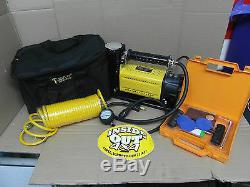 Heavy Duty T-max Air Compressor And Repair Kit 110ltr Per Min 12volt Ba 2663