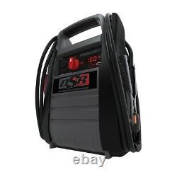 Heavy Duty Truck Dual Battery Booster Pack Jump Starter Box 12 24 Volt 4400 amp