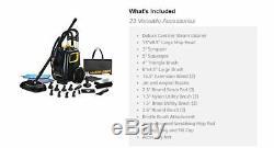 Heavy Duty Upholstery Steam Cleaner Kit Car Truck Boat Vinyl Machine Carpet Fast