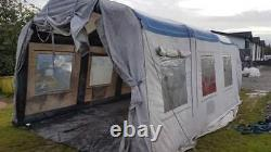 Heavy duty Portable Inflatable Tent Paint Spray Booth Car Mobile Workstation