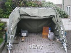 Heavy duty canvas portable folding garage. Bought new Oct 2018 £625 ONO