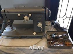 INDUSTRIAL STRENGTH HEAVY DUTY PFAFF 229 SEWING MACHINE LEATHER w Accessories