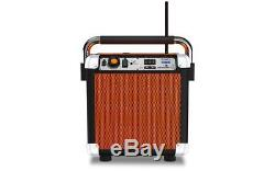 ION Audio Job Rocker Plus Portable Heavy-Duty Jobsite Bluetooth Speaker Orange
