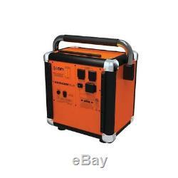 ION Audio Orange Job Rocker Plus Portable Heavy-Duty Jobsite BT Speaker System