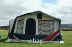 Jamet Louisiana 6 Berth Trailer Tent/Portable Kitchen/Large Lockable Storage Box