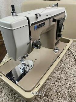 Janome New Home Semi Industrial ZigZag Sewing Machine Model 535 Heavy Duty