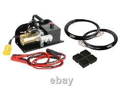 Kwik Lift Quick Jack Scissor Lift Portable 2.5 Ton DC12V E4G KL2500 DC12V