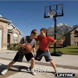 Lifetime Heavy Duty Portable Basketball Hoop 52 Inch 132cm Collection Only