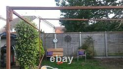 MARKET STALL metal stand frame Max 20ft by 18ft Min 6ft 8 or 2m x 2m Multisized