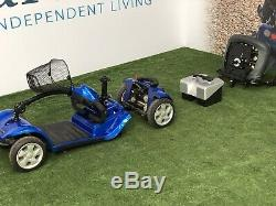 March Sale Kymco Mini LS Electric Blue Portable Mobility Scooter