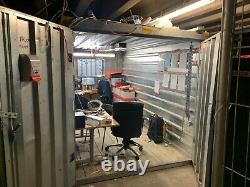 Metal container/ shed portable