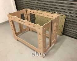 Mft Folding Table & Top Work Bench Portable Workshop Heavy Duty