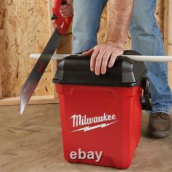 Milwaukee JOBSITE TOOL BOX 330x330x406mm MTB1400 Heavy Duty USA Made