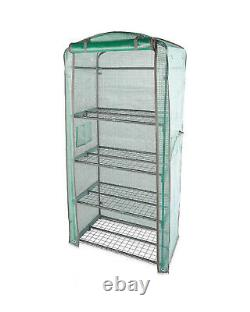 Mini Greenhouse 4 Tier Including Frame HEAVY DUTY Outdoor Garden Grow House NEW