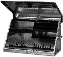 Montezuma Portable Tool Box Storage Sturdy Locking Latch Heavy Duty Aluminum New