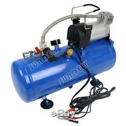 NEW! 8L Heavy Duty 12v Portable Air Compressor 4x4 Tyre Pump UK