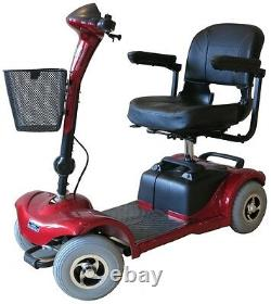NEW Lightweight Mobility Scooter 4 Wheel 4MPH Portable Car Boot