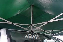 NEW TITAN HEX 40 HEAVY DUTY EASY POP UP WEDDING GAZEBO MARQUEE WHITE 3m x 3m