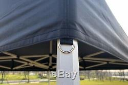 NEW TITAN HEX 40 HEAVY DUTY POP UP GAZEBO STRONGEST FRAME ON EBAY BLUE 3m x 3m