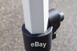 NEW TITAN HEX 40 HEAVY DUTY POP UP GAZEBO STRONGEST FRAME ON EBAY NAVY 3m x 3m