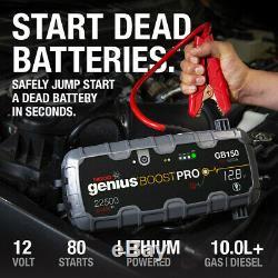 NOCO Genius Boost Pro GB150 Heavy Duty UltraSafe Lithium Jump Starter Pack