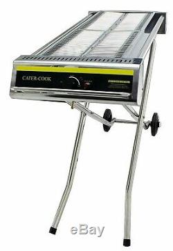 New Heavy Duty Foldable Propane Gas Barbecue High Power Ex- Wide Cooking Surface