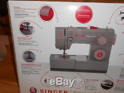 New Heavy-Duty Singer Sewing Machine, Leather, Fabric etc. 60% Stronger 4452