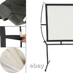 New Pro 4K HD Projector Screen Home Cinema With Heavy Duty Stand Indoor Outdoor