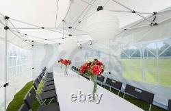 New Wimba Deluxe HEAVY DUTY 3x6m Popup Gazebo Marquee Canopy