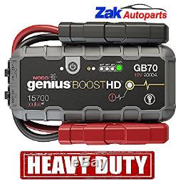 Noco GB70 Genius Boost Pack 12V 2000A Lithium Battery Jump Start Heavy Duty NEW