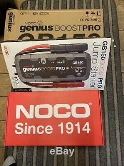 Noco Genius Boost Pro GB150-4000A Boat Marine Lithium Jump Start Heavy Duty