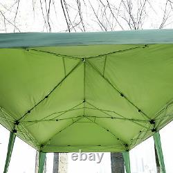 Outsunny 6m x 3m Pop Up Gazebo Party Tent Canopy Marquee with Storage Bag Green