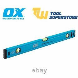 Ox Trade Level Kit & Bag 600mm, 900mm, 1200mm, 1800mm Spirit Levels 4 Piece