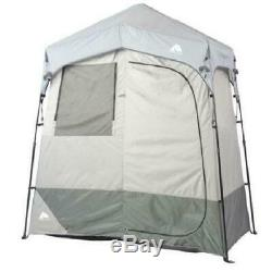Ozark Trail 2-Room Pop up PORTABLE SHOWER TENT Outdoor Camping Privacy Shelter