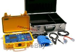 PORTABLE APPLIANCE SAFETY TESTER PAT TEST & TAG TAGGING (Data Logging Memory)