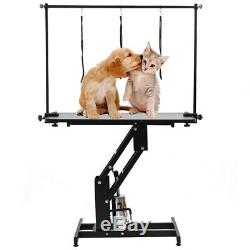 Parlour Large Hydraulic Pets Dog/cat Grooming Loop Bath Table Adjust Arm & Leash
