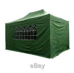 Pop Up Gazebo Airwave waterproof outdoor patio heavy duty 2m, 2.5m, 3m, 4.5m 6m