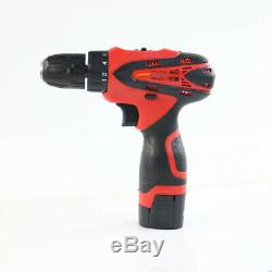 Portable 16.8V Cordless Drill Driver Set Electric 1.5Ah Lithium Ion Screwdriver