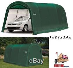 Portable Carport Garage Storage Car ATV Shelter Shed Tent Canopy Heavy Duty Door